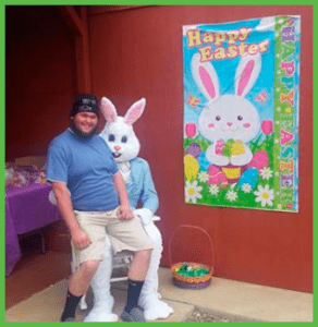Crown Automotive Towing with Easter Bunny