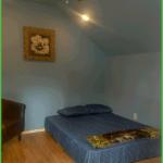 Tiny Cabin Bedroom