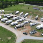 Overview of Upper Level Camper Sites